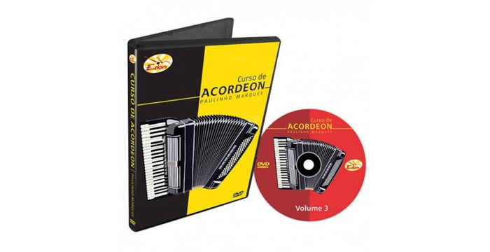 Curso de Acordeon Intermediário: Vol. 3