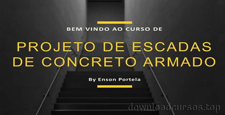 projeto de escadas com concreto armado